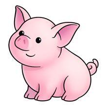 pig clipart google zoeken have to draw pinterest google rh pinterest ca clipart of pig butts clip art of pig eating