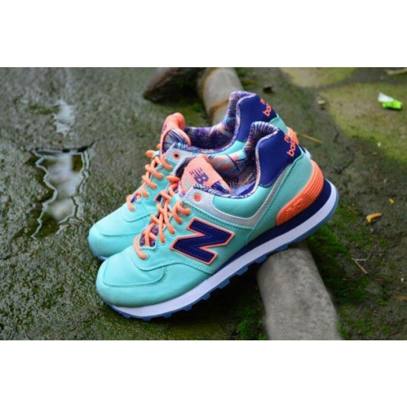 brand new 812fb fd9f6 Womens New Balance WL574 Island Pack Shoes | cheap new balance shoes ...