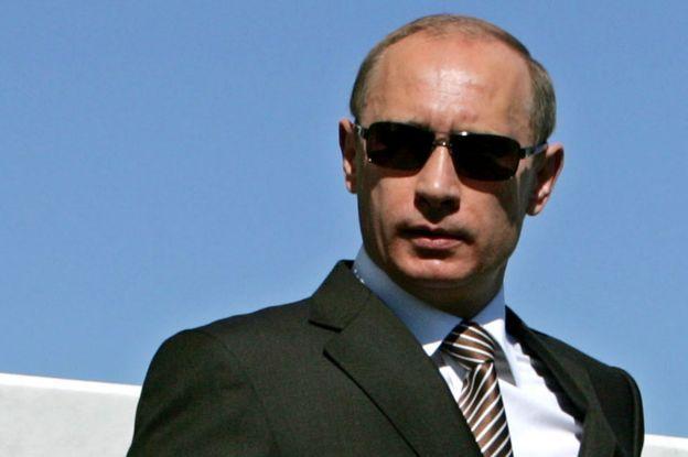 Vladimir Putin in 2007