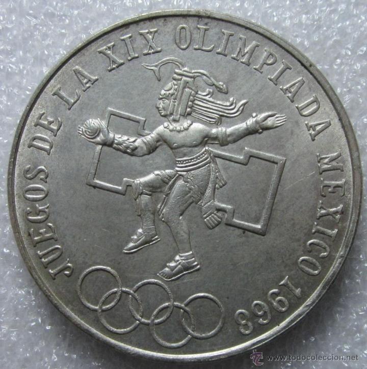 Moneda Conmemorativa De Los Juegos Olimpicos De Mexico 1968