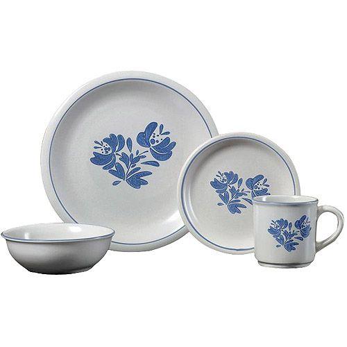 pfaltzgraff studio yorktown 16 piece dinnerware set