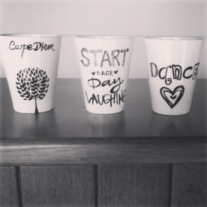 Sharpie mugs for christmas gifts by tata