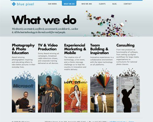 50+ Beautiful Websites with Great Colour Schemes