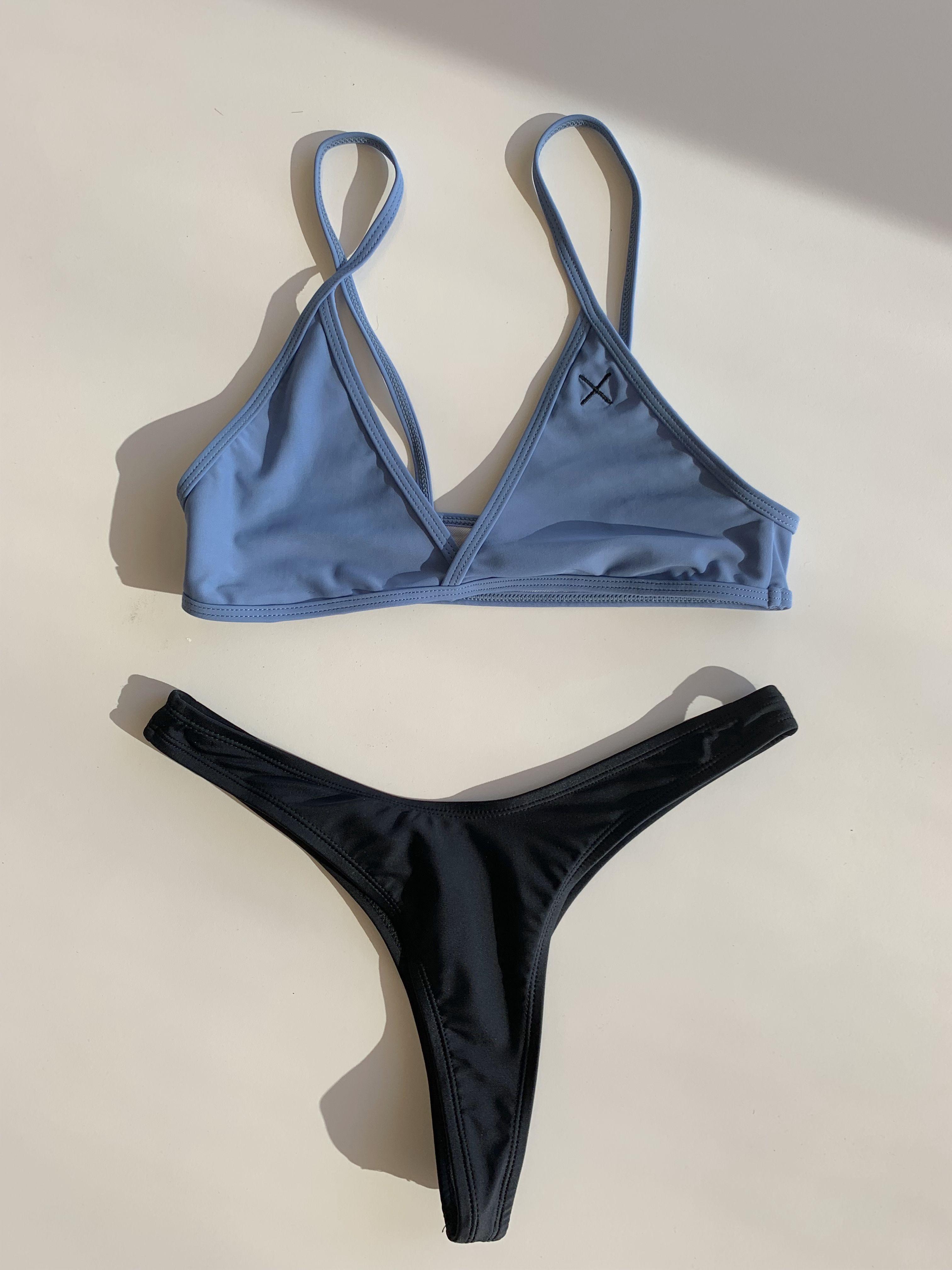 fe024a534 Boutine La, Size Chart, Manhattan, Bathing Suits, Thong Bikini, Hipster,