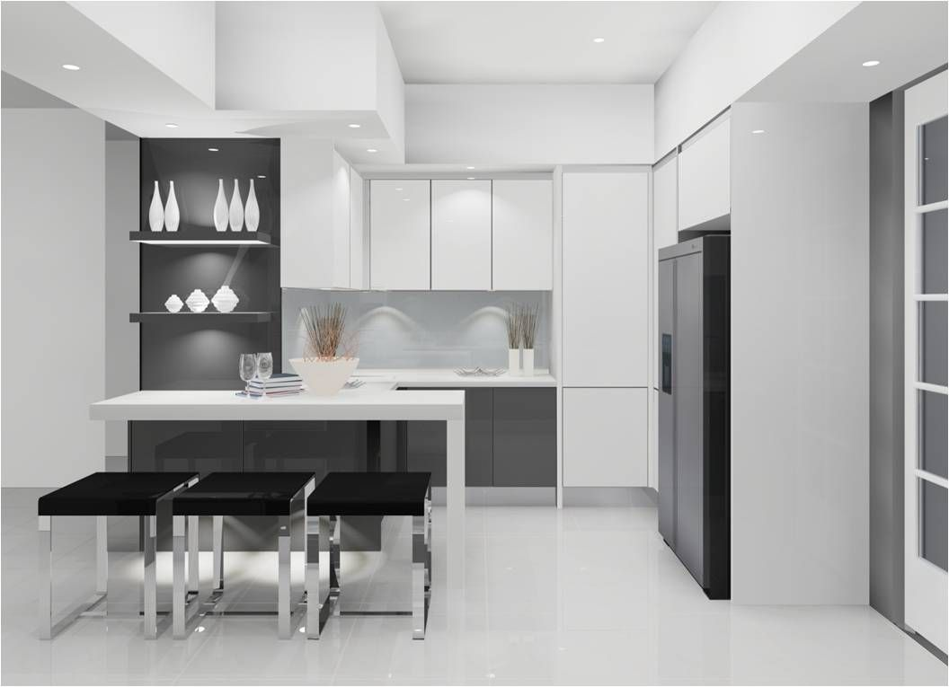 Best Images About Home Kitchen Design On Pinterest Islands - Kitchen design in black and white