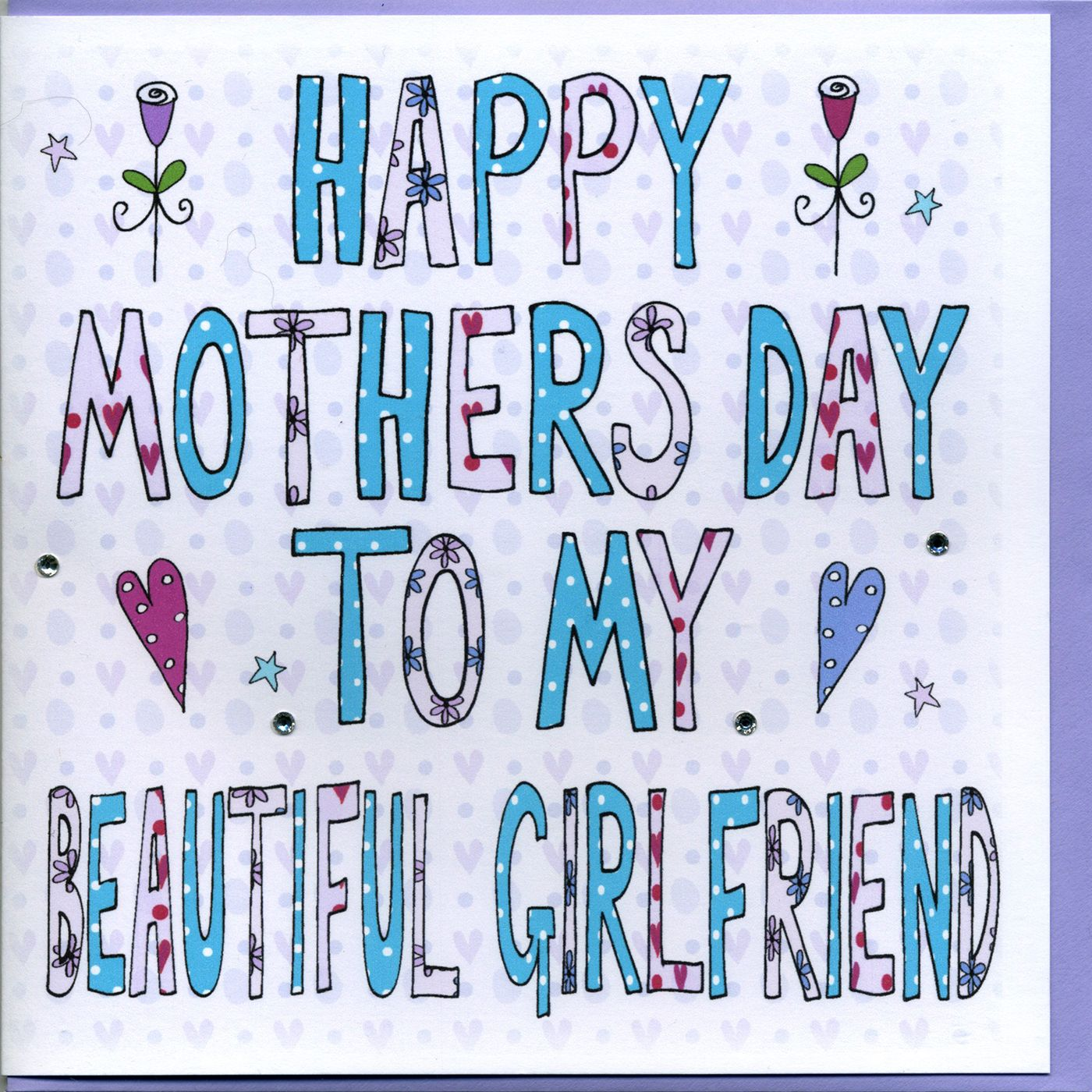 Personalised For My Girlfriend Mothers Day Book Card Happy Mother Day Quotes Mothers Day Book Me As A Girlfriend