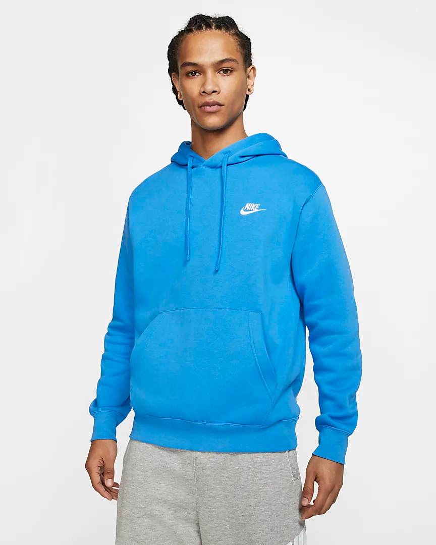 Nike Sportswear Club Fleece Pullover Hoodie Nike Com Nike Fleece Jacket Nike Hoodie Outfit Stylish Hoodies [ 1080 x 864 Pixel ]