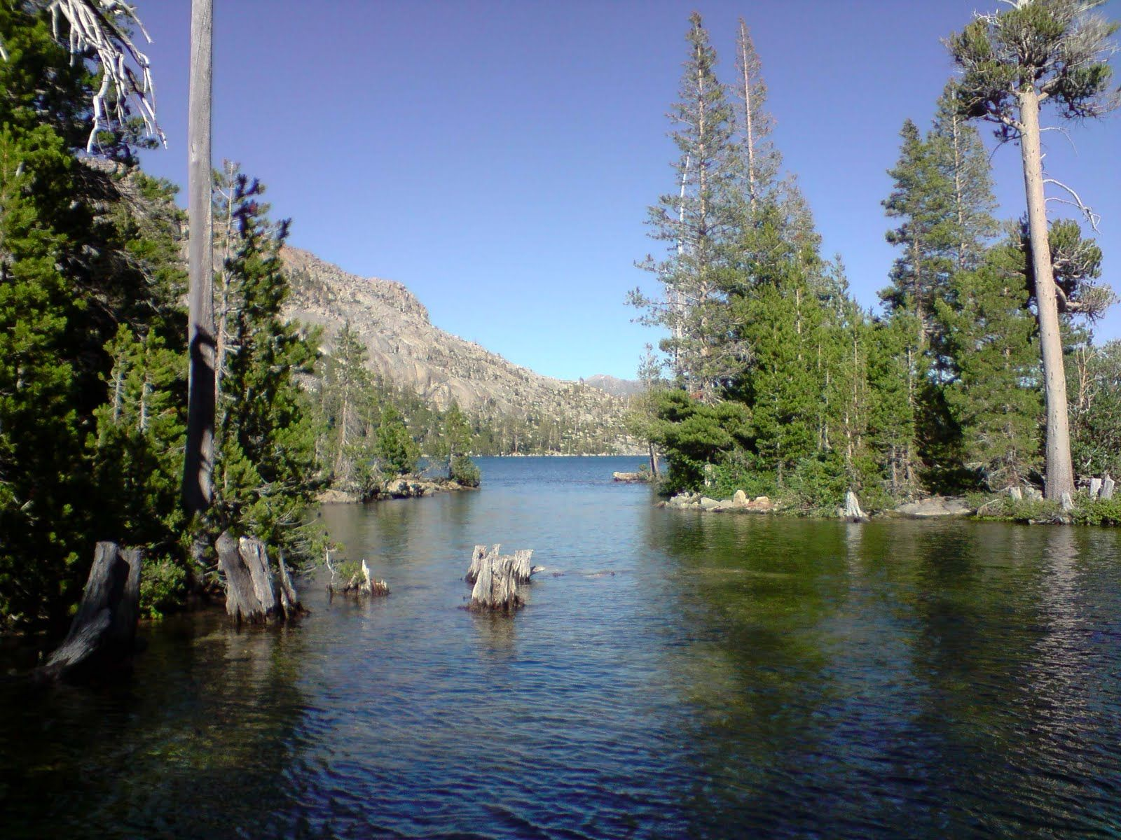 Best California Lakes Photos Echo Lake California With