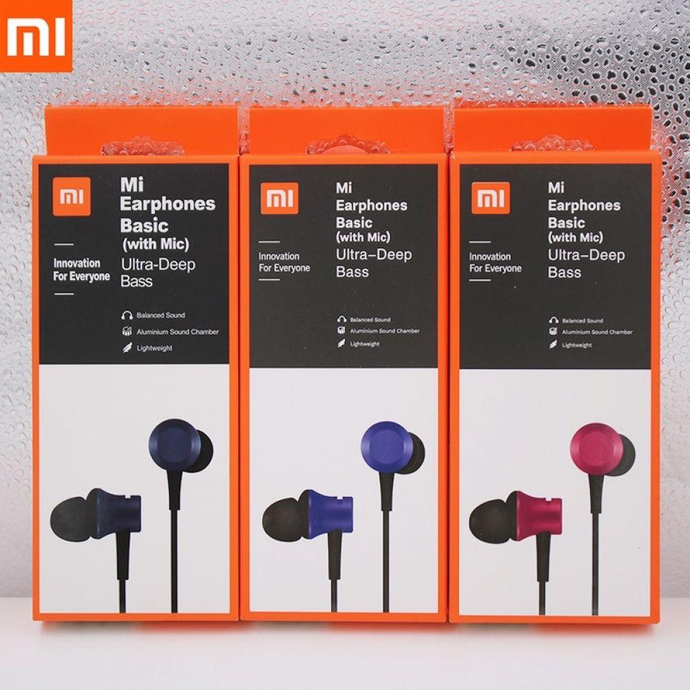 Xiaomi Piston 3 Auriculares Internos Mi Fresh De 3 5mm Con Microfono En 2020 Microfonos Auriculares Telefono Inteligente