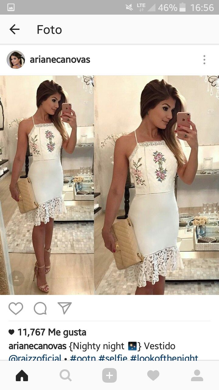 e3fa10403 Look maraaaa ! | Moda Feminina em 2019 | Vestidos, Vestidos de noche ...
