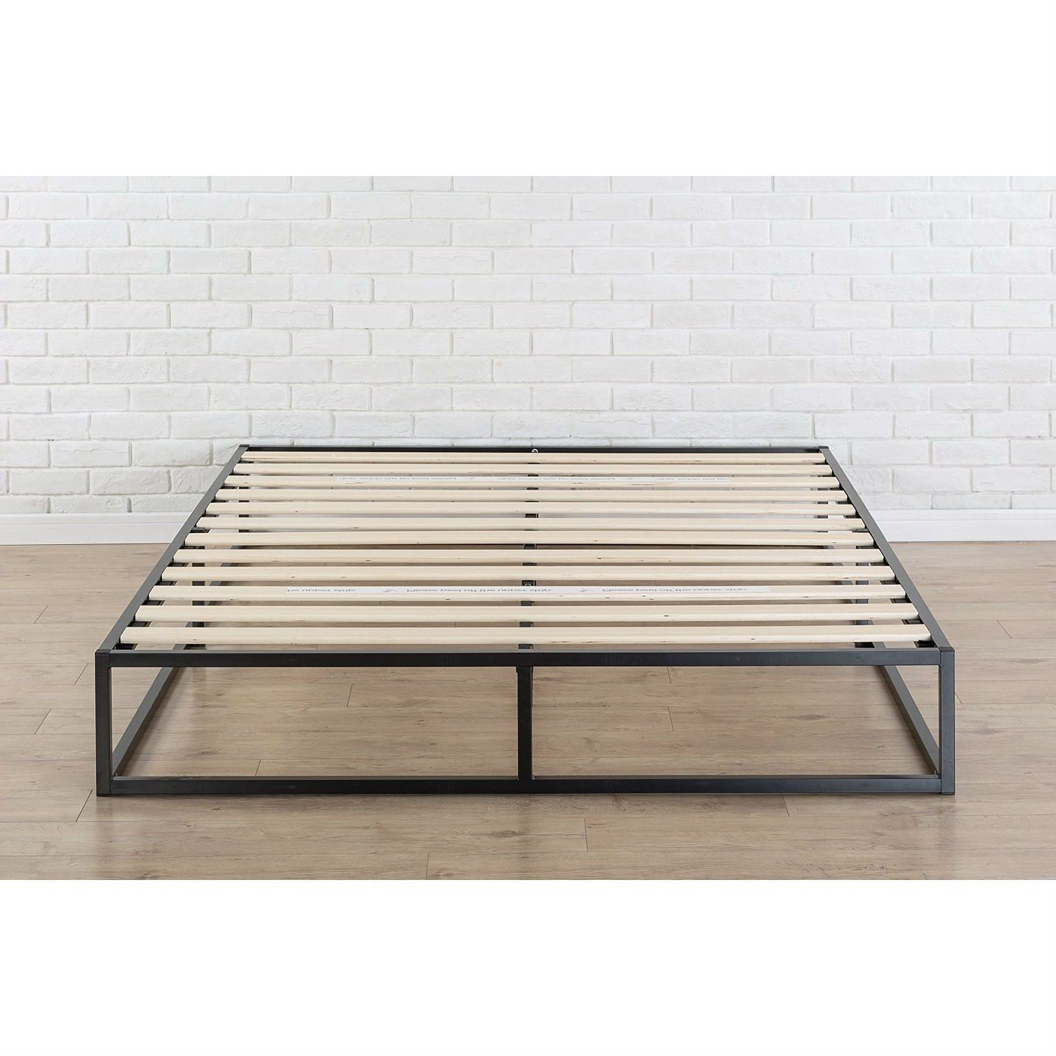 This Queen size Modern 10inch Low Profile Metal Platform
