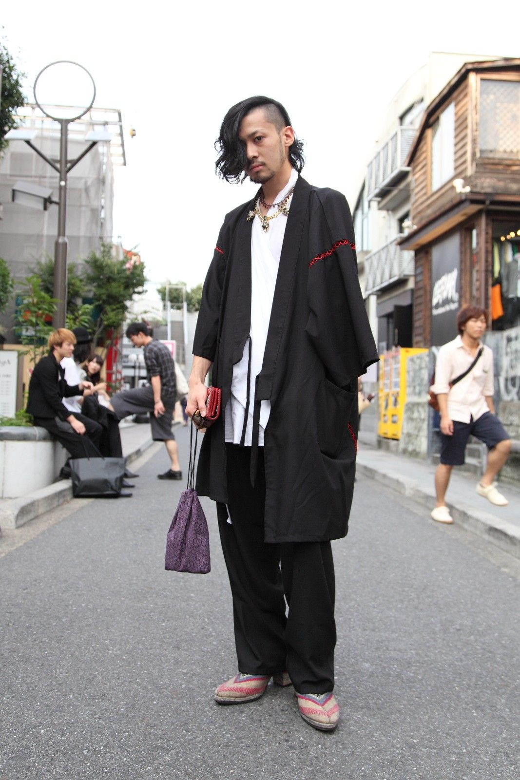 Traditional Japanese Clothing Tokyo Street Style In 2019 Men S