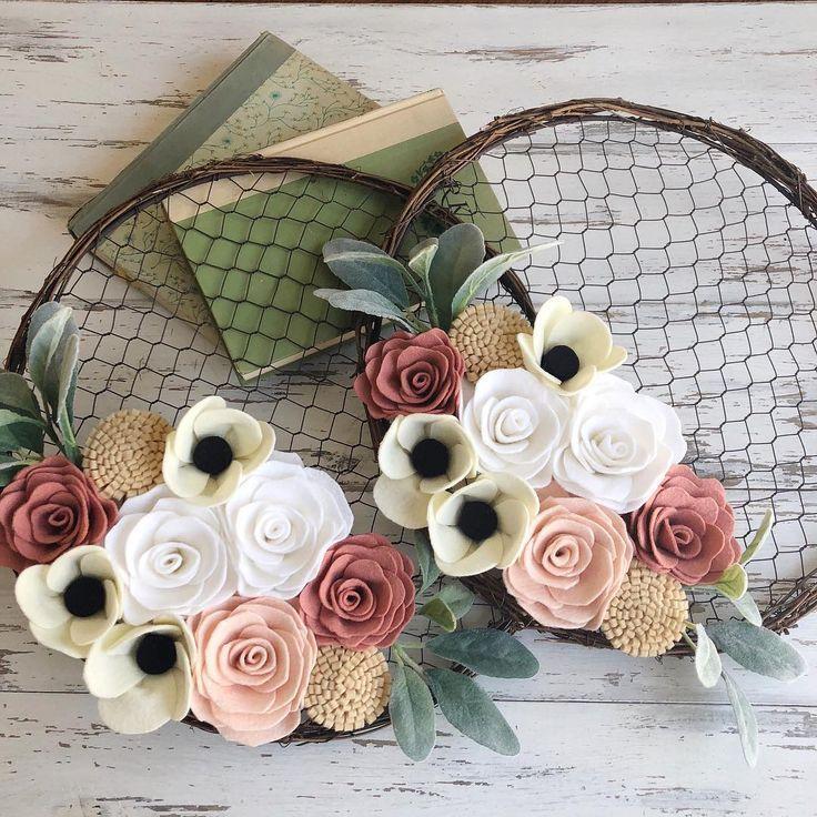 Photo of An Easy DIY Spring Hoop Wreath – Hello Central Avenue