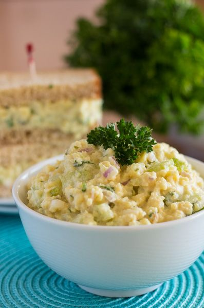 """Burmese Chickpea Tofu """"Egg"""" Salad--for sandwiches and crackers"""