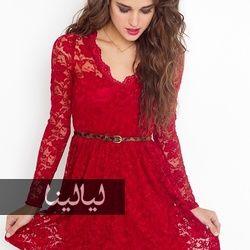 موديلات فساتين دانتيل قصيرة لتتألقي في صيف 2014 Short Lace Dress Red Lace Dress Dresses