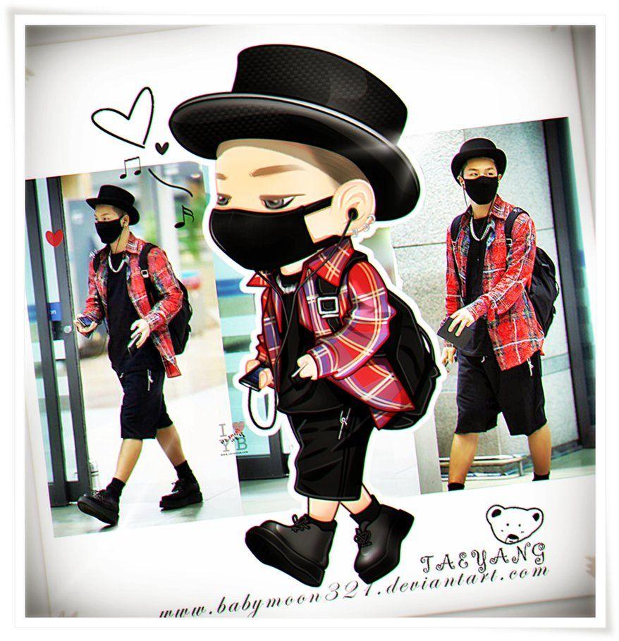 TAEYANG by babymoon321 #fanart #bigbang #airportfashion