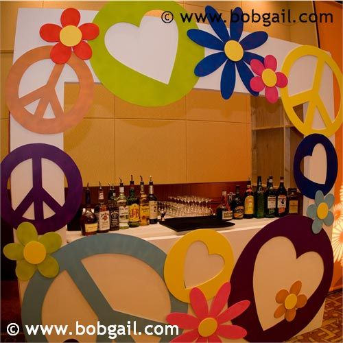 Flower power hippie party ideas