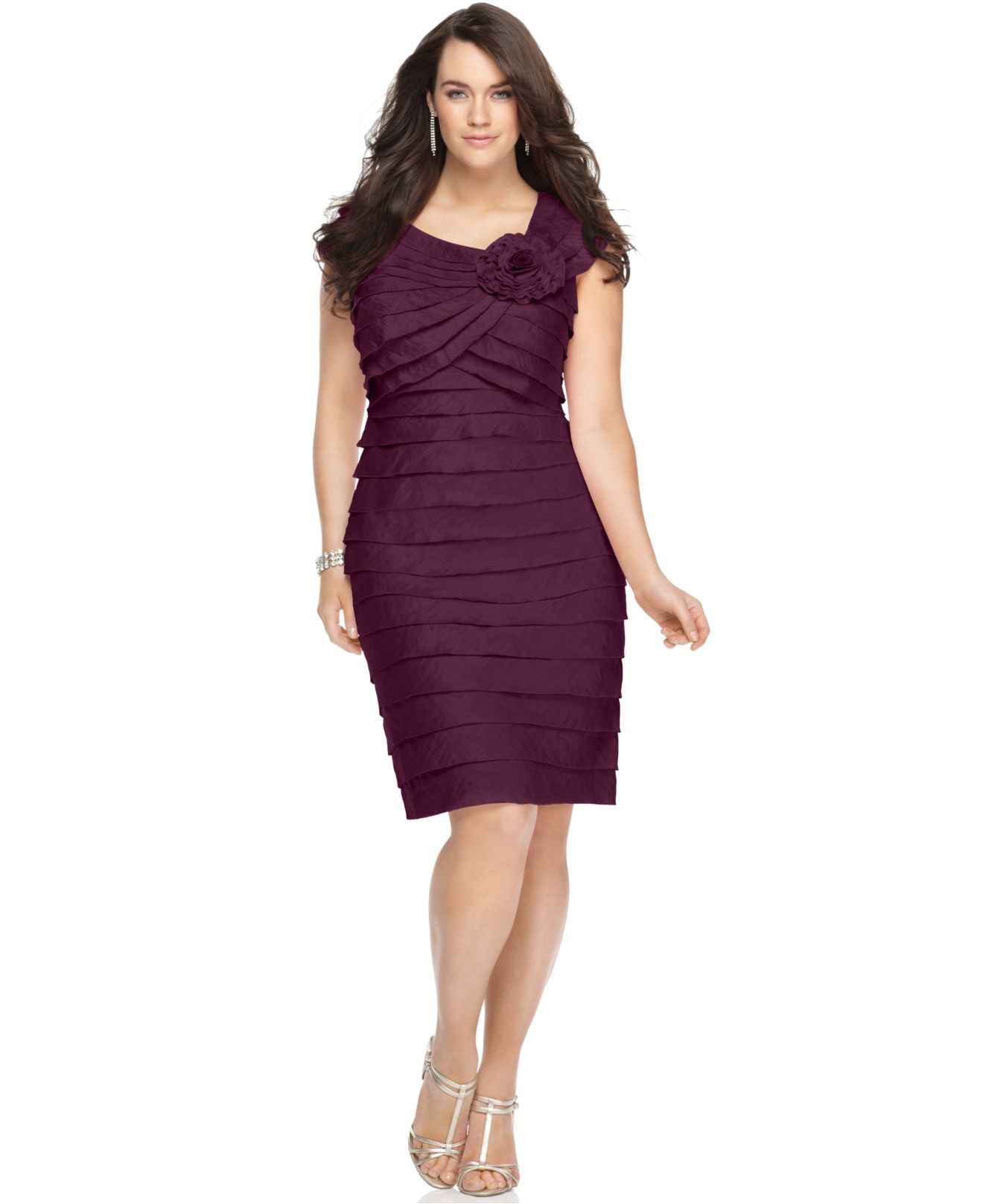 45f32098ffc London Times Plus Size Dress