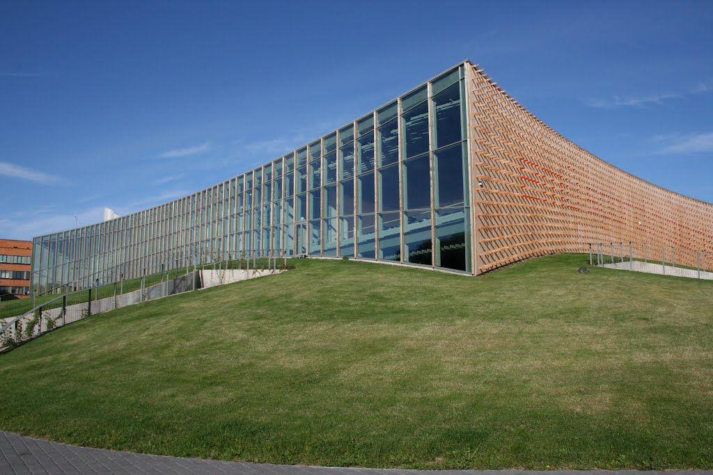 Estonian University Of Life Sciences Sport Hall Estonia University Life World Thinking Day Sport Hall