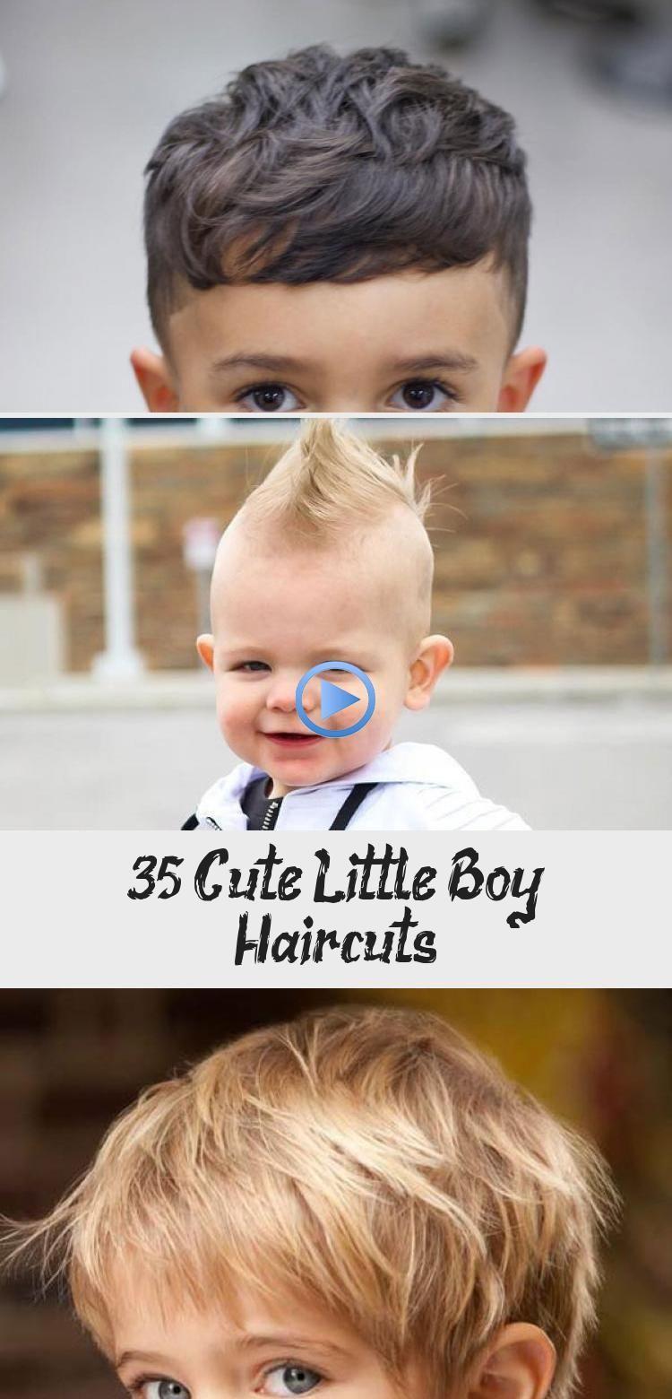8 süße kleine Jungen-Haarschnitte - BABY #frisurenjungscoole