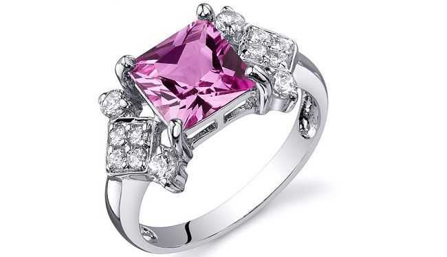 Ring Pink Diamond Engagement