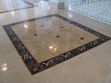 decorative marble flooring patterns | Marbles Floor Designs