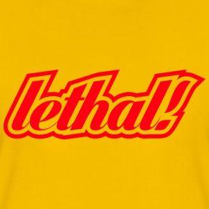 crazywords | lethal! - Women's Premium T-Shirt