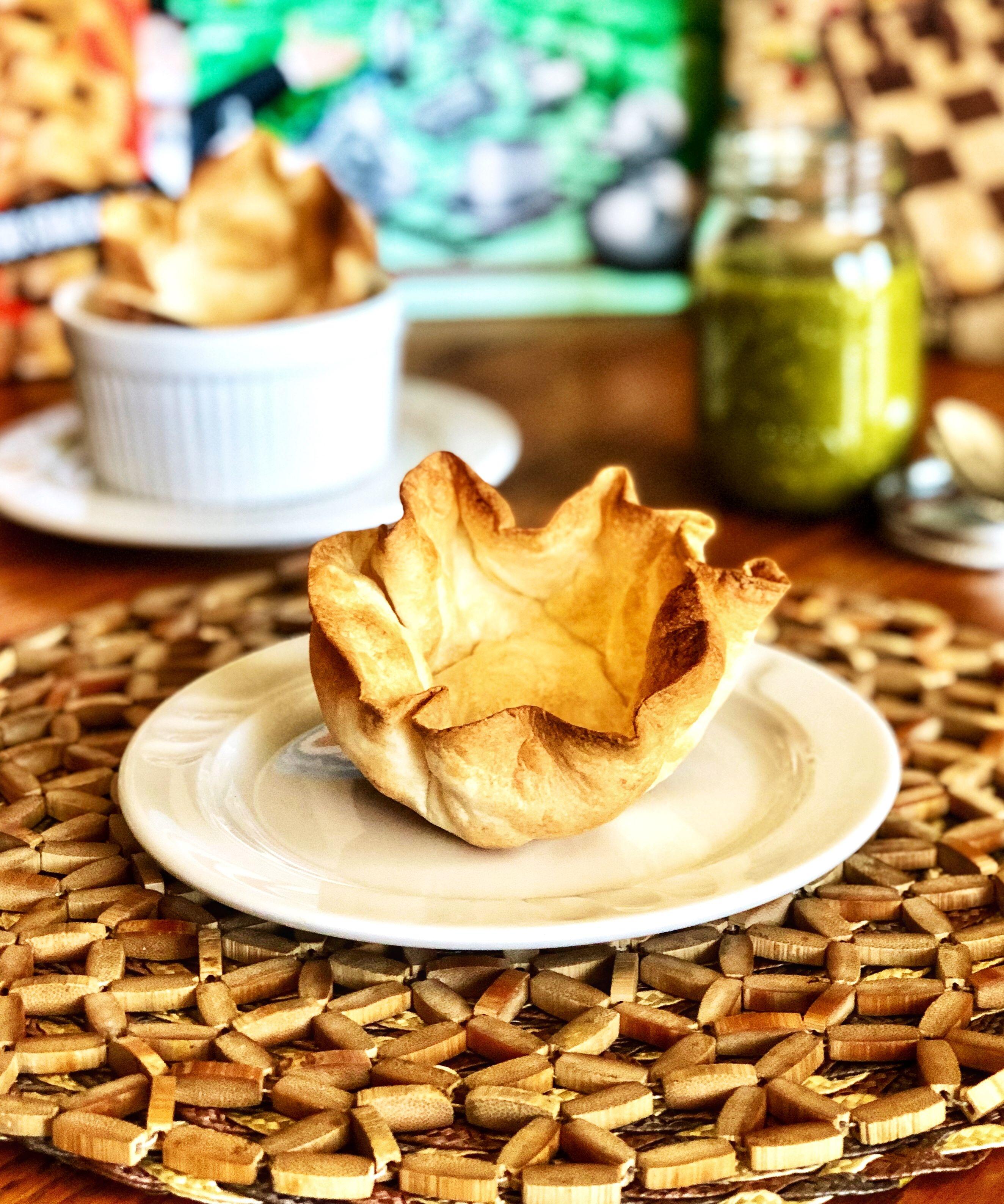 Air fryer flour tortilla bowls recipe in 2020 tortilla