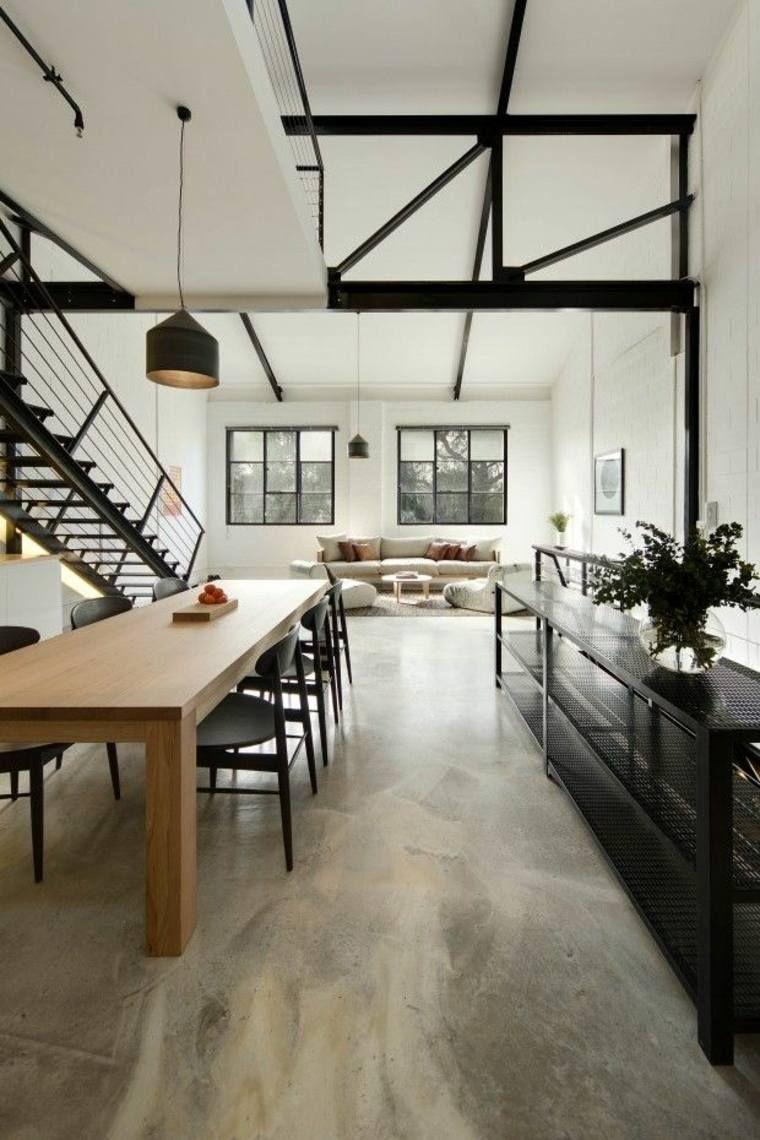 Aplicación del cemento en interiores | Pinterest | Suelos de ...