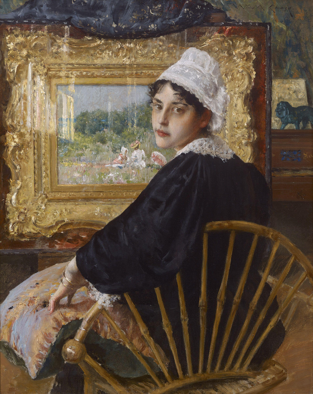An Artist's Wife, 1892, William Merritt Chase Private Collection—Fayez Sarofim