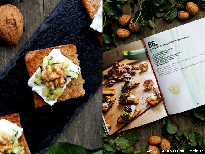 Crostini mit Zucchini, Ziegenkäse und Walnuss   GIVE-AWAY!