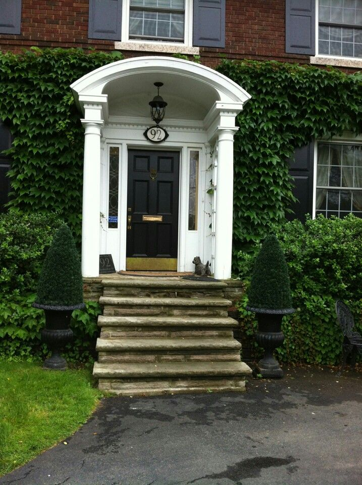 Another Angle Of Covered Porch We Like With Exception Curved
