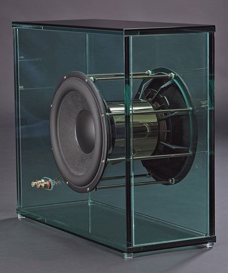 Perfect8 Shatters Wallet with $566,000 Glass Speaker System | Ultra  High-End Audio and Home