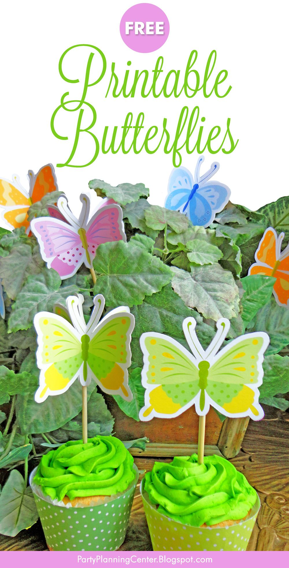 31+ Butterfly cake toppers printable inspirations