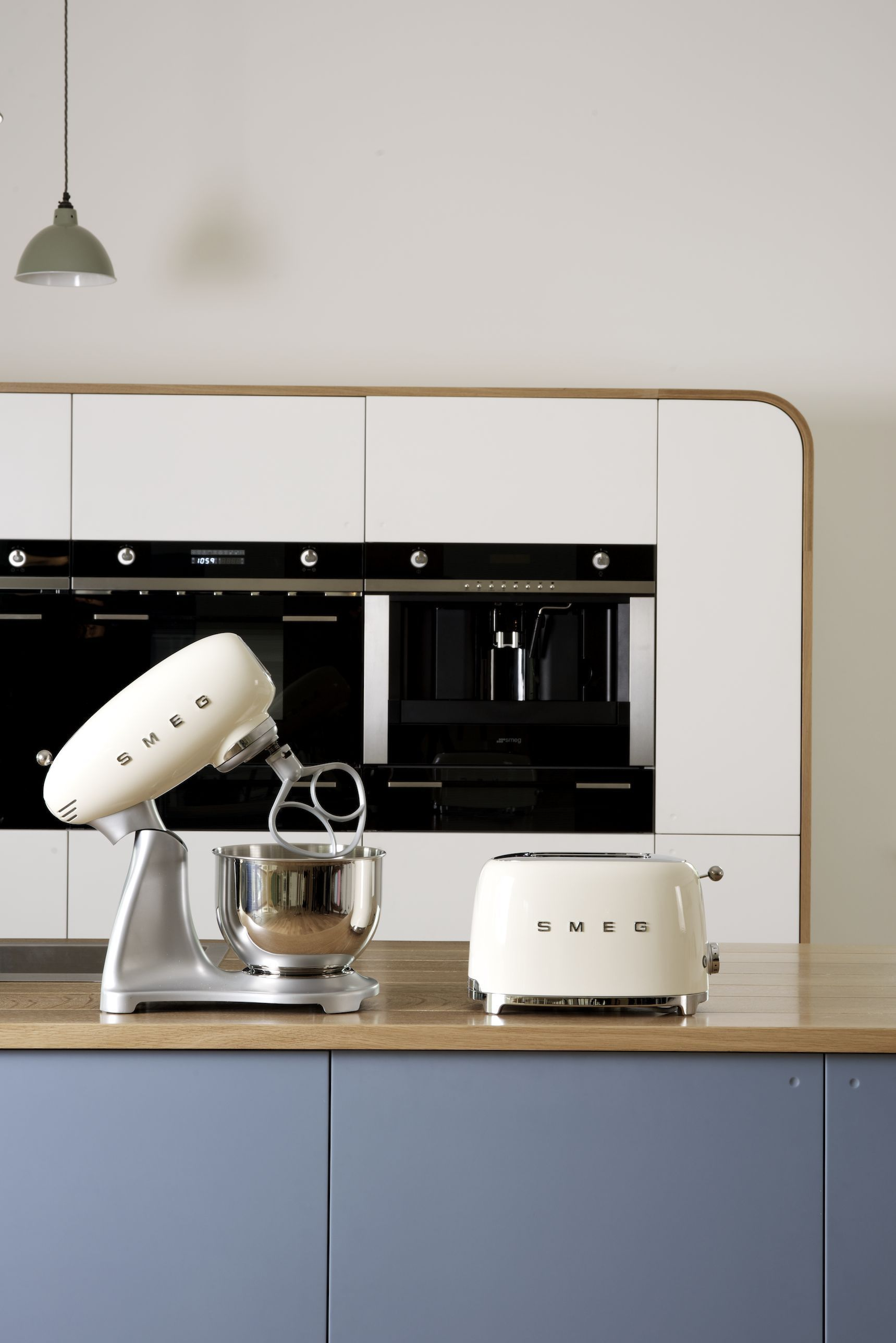 The brand new Smeg mixer and toaster - shot by deVOL here at Cotes ...