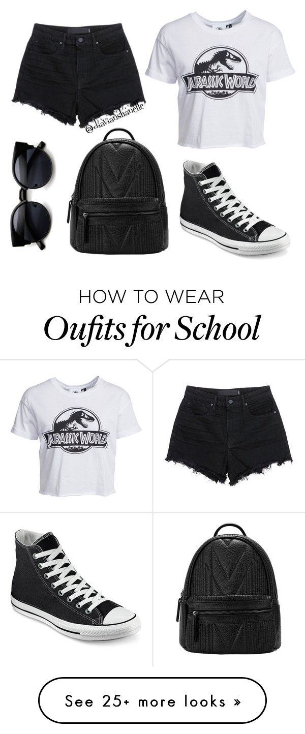"Cute School Outfit"" by diavianshanelle on Polyvore featuring"