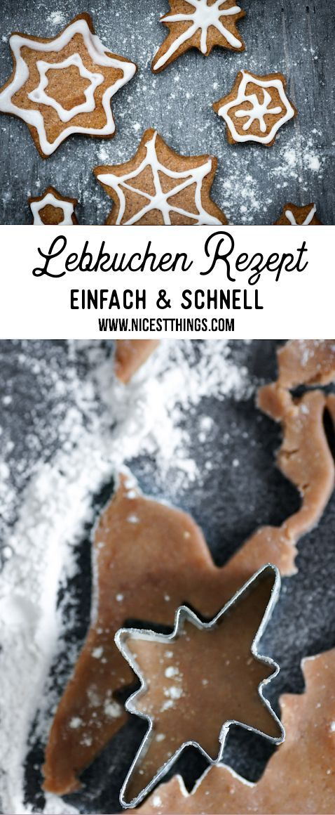 Photo of Gingerbread recipe easy and quick & make gingerbread spice yourself – Nicest Things