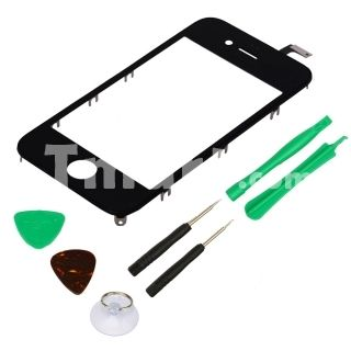 Touch Screen Digitizer Replacement with Tools Kit for iPhone 4 CDMA Version Black,$12.32