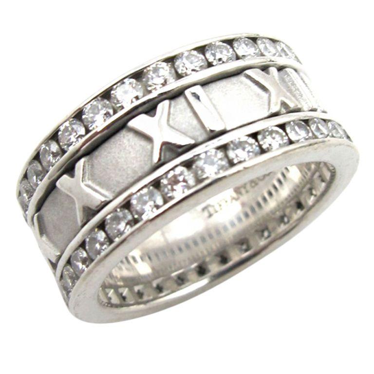 Tiffany Co Atlas Diamond And Gold Ring 1stdibs Com Tiffany