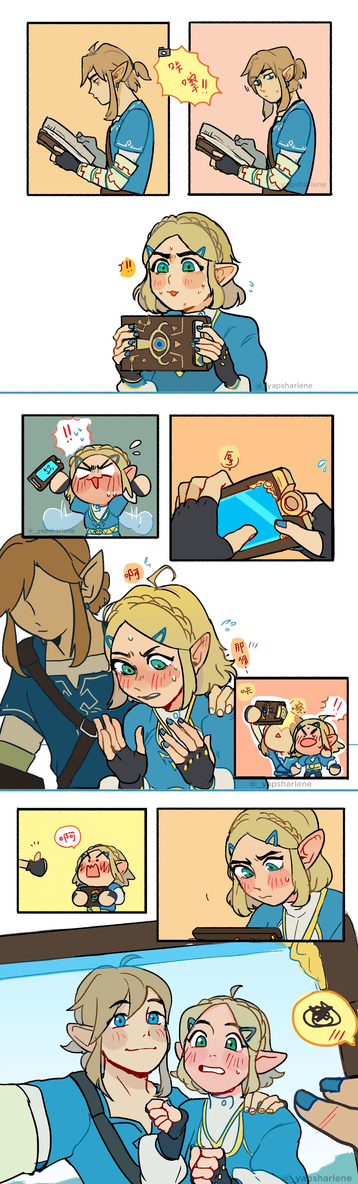 Botw2 Oc Shutter A Short Zelink Fan Comic Zelda Legend Of Zelda Memes Legend Of Zelda Legend Of Zelda Breath