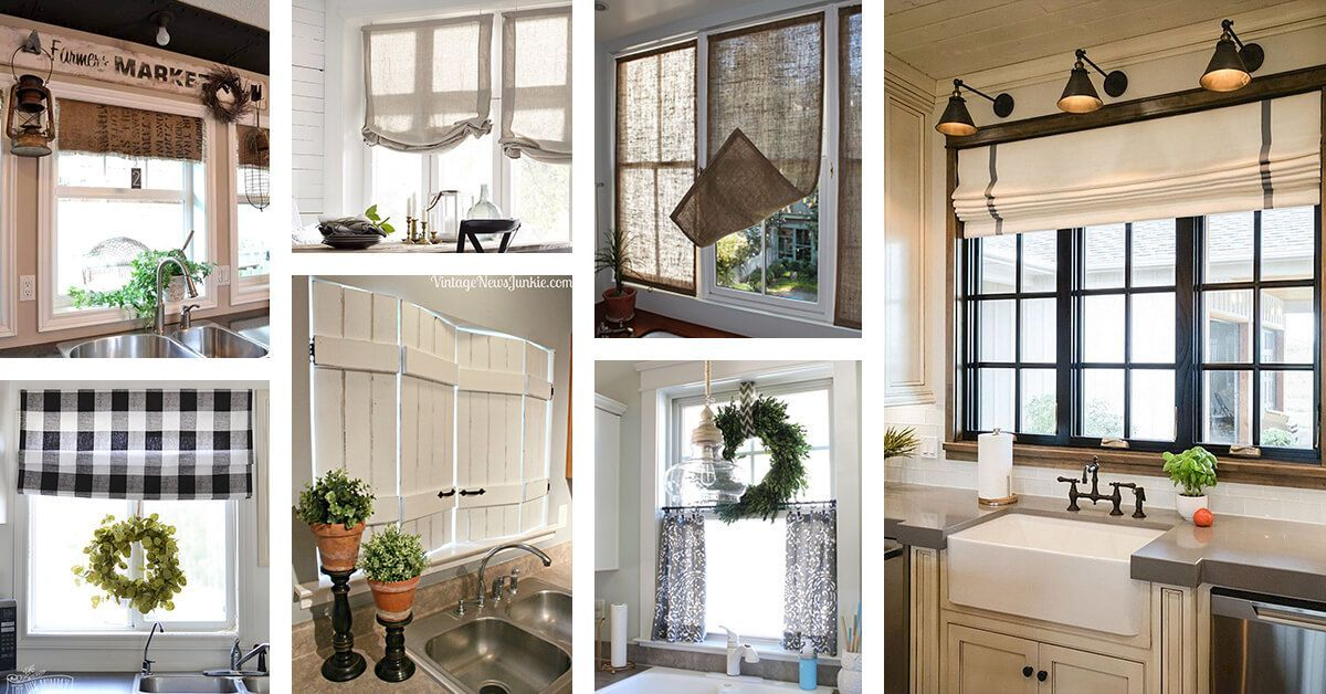 43 farmhouse living room window treatments french country