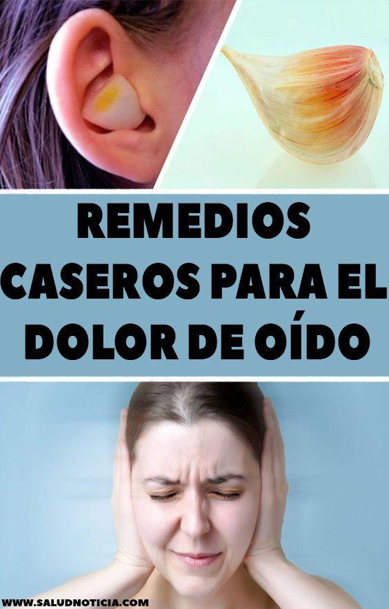 Remedios caseros para el dolor de oído - Dolor de oido..