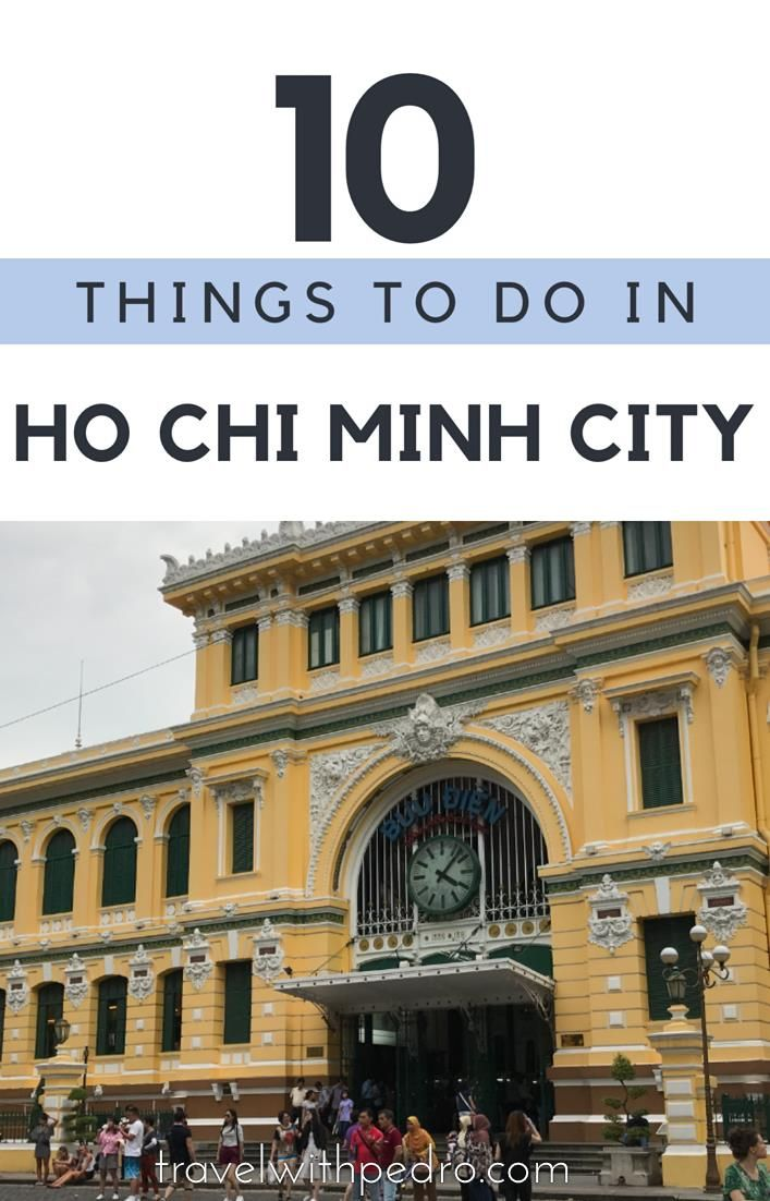 Find out the top 10 main attractions to help you plan your trip to Ho Chi Minh City, Vietnam's capital.