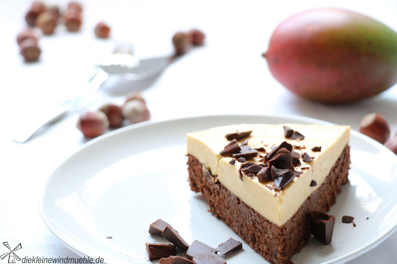 Mango Schoko Kuchen Die Kleine Windmuehle Mit Bildern Kuchen Schokoladen Kuchen Lebensmittel Essen