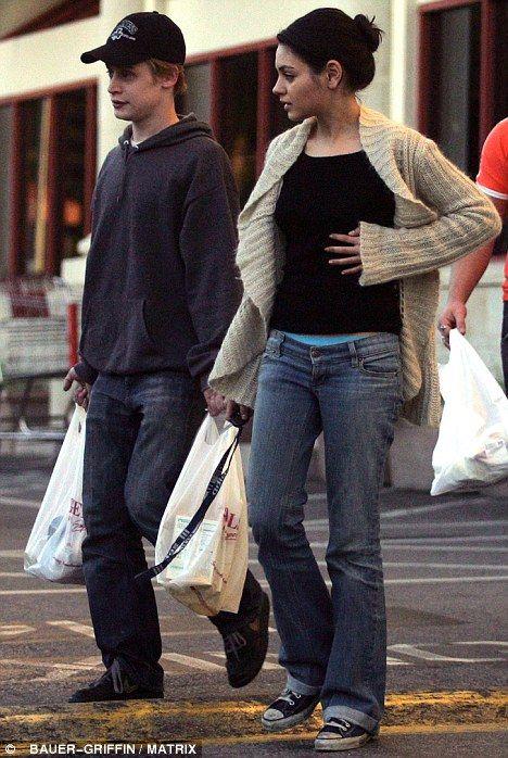 Black Swan star Mila Kunis splits from Macaulay Culkin after eight years  style  Macaulay