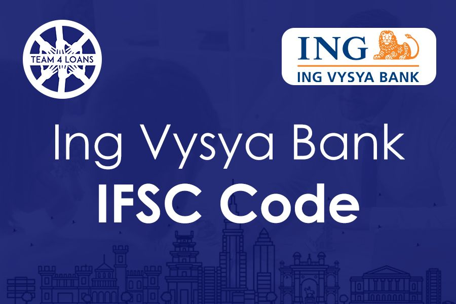 Ing Vysya Bank Ifsc Code With Branch Details Coding Personal Loans Branch