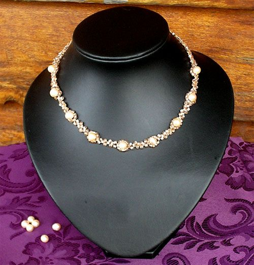 Roaming Pixies: Make a Beaded Pearl Necklace - Free Beading Pattern