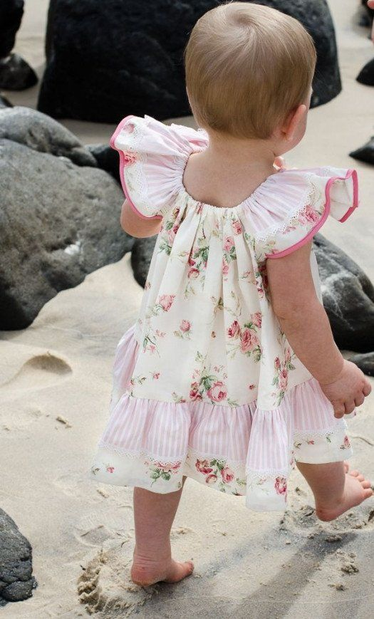 737dff6f7b63 Butterfly Dress sewing pattern and tutorial