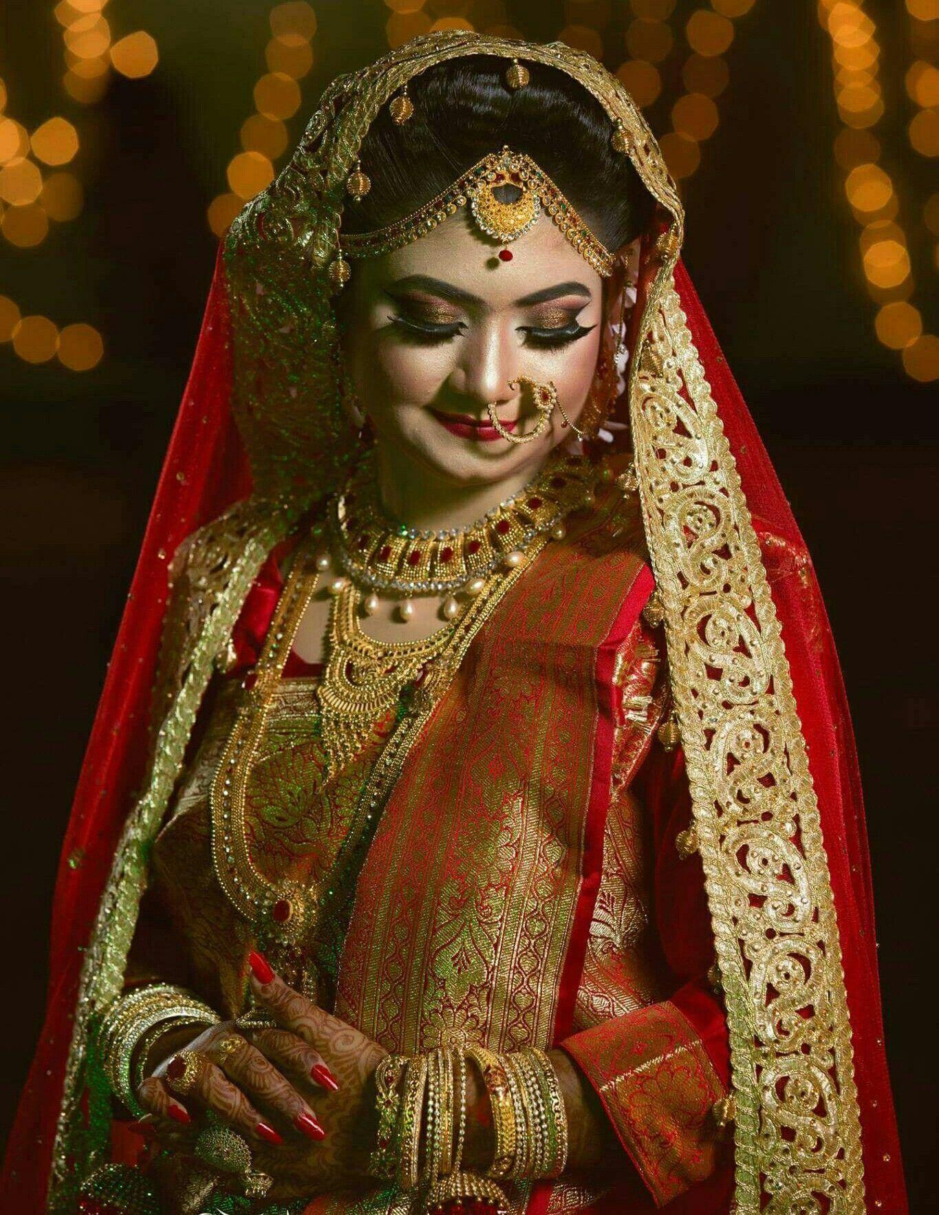 Bangladeshi Bride | ethnic looks | Pinterest | Saree wedding, Indian ...