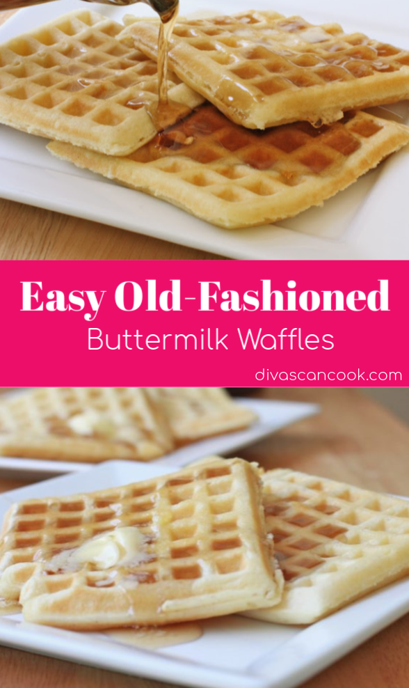 Easy Buttermilk Waffles Recipe Recipe Buttermilk Waffles Buttermilk Waffles Recipe Easy Buttermilk Waffle Recipe